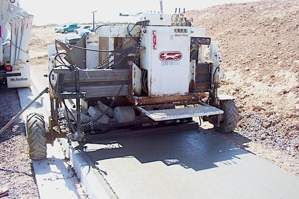 Curb Machine Concrete Paving Machine Curbing Machines